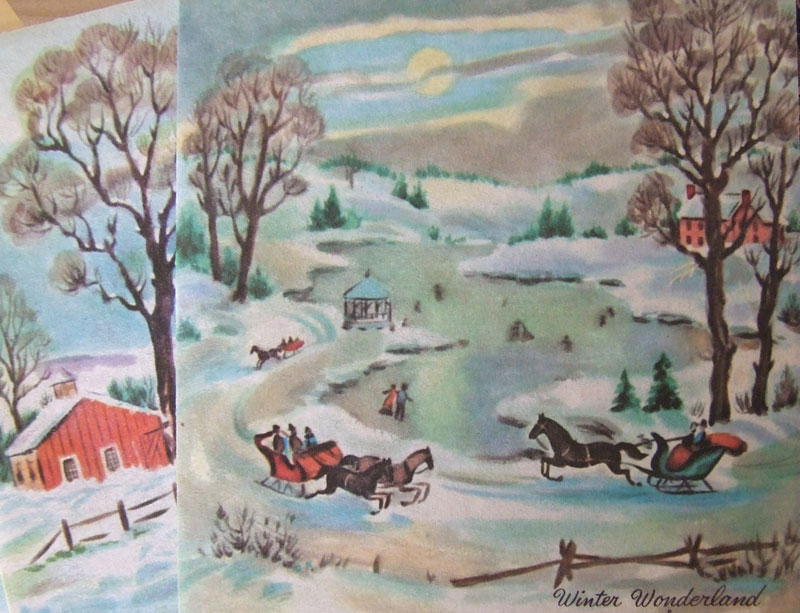Thinkcage » Blog Archive » Vintage Christmas Cards